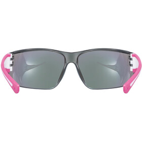 UVEX Sportstyle 204 Glasses pink/white/mirror pink